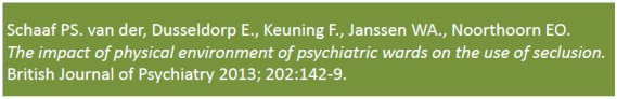 Oazis - Onderzoek - tekst British Journal of Psychiatry 2013